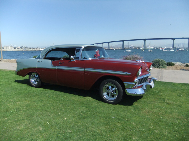 Hollywood's 56 Chevy Bel Air