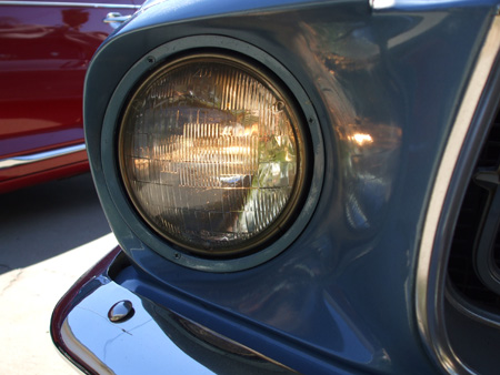 Old Head Lamp